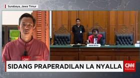 Sidang Gugatan Praperadilan Tersangka La Nyalla Mattalitti
