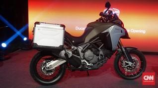 Tampang Motor Penjelajah Ducati Multistrada 1200 Enduro