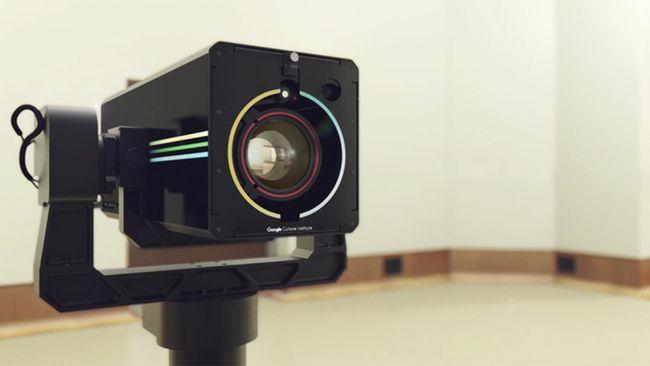 Abadikan Karya Seni, Google Pakai Kamera Resolusi Gigapixel
