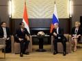 Gempa Lombok, Putin Kirim Telegram Belasungkawa ke Jokowi