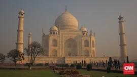 Polusi Kian Parah, Taj Mahal Dipasangi Alat Pembersih Udara