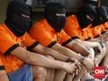 Delapan Tahanan Pesta Sabu di Rutan Mapolres Semarang