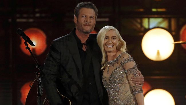 Blake Shelton Jawab Rumor Pernikahan dengan Gwen Stefani