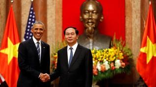 China Jadi Alasan AS Cabut Embargo Senjata ke Vietnam?