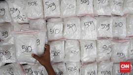 Polisi Bongkar Sindikat Narkoba Bungkus Kuaci Omzet Miliaran