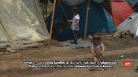 Yunani Mulai Membersihkan Kamp Pengungsi dan Imigran
