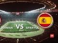 Jerman dan Spanyol Berebut Supremasi Eropa
