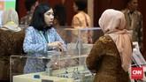 SKK Migas melihat ada potensi tambahan penerimaan negara dari sektor migas sebesar US$544,66 juta atau sekitar Rp7,4 triliun, menyusul ditandatanganinya tiga perjanjian jual beli gas bumi pada pembukaan Pameran dan Konvensi Asosiasi Perusahaan Migas Indonesia (IPA) 2016. Foto: CNN Indonesia/Andry Novelino