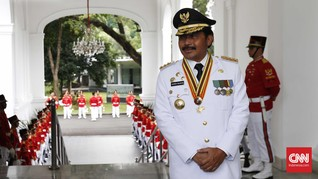 Rumah Dinas Gubernur Kepulauan Riau Sepi usai OTT KPK
