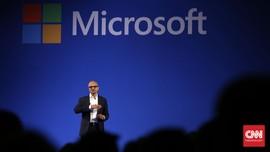 Di Depan Jokowi, Microsoft Banggakan 25 Tahun Kiprah di RI