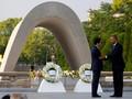 Kunjungi Hiroshima, Obama Serukan Dunia Tanpa Senjata Nuklir