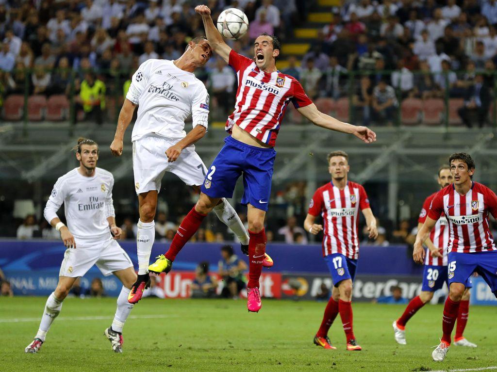 Setelah bermain 1-1 selama 120 menit, laga pun dilanjutkan ke babak adu penalti. Stefan Wermuth/Reuters/detikFoto.
