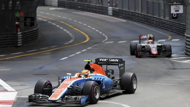 Direktur balap Manor Racing Dave Ryan menganggap Rio Haryanto dan Pascal Wehrlein meraih hasil yang positif di GP Monako meski finis di posisi buncit. (Dok. Manor Grand Prix Racing Ltd)