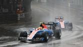 Trek Sirkuit Jalan Raya Monte Carlo yang basah di awal balapan diakui Rio Haryanto menyulitkan dirinya tampil maksimal di GP Monako. (Dok. Manor Grand Prix Racing Ltd)