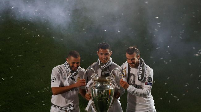Zidane Rindu Penampilan Trio BBC di Real Madrid