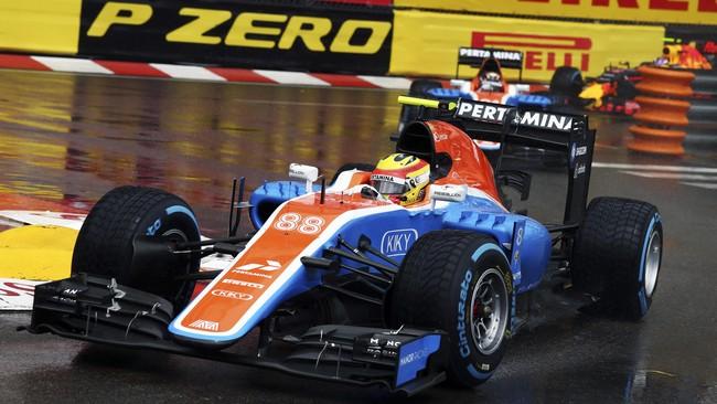 Rio Haryanto untuk kali ketiga finis di posisi buncit pada ajang Formula One (F1) 2016 setelah di GP Bahrain dan GP Spanyol. (Dok. Manor Grand Prix Racing Ltd)