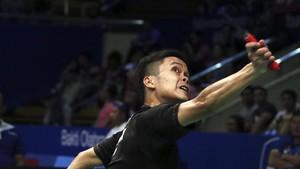 Anthony Kalah, Tunggal Putra Habis di Malaysia Masters
