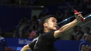 Kalah di Semifinal French Open, Anthony Bersyukur Tak Cedera