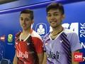 Dua Ganda Putra Indonesia Tumbang di Semifinal India GPG