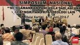 Simposium 'Mengamankan Pancasila dari Ancaman Kebangkitan PKI' digelar sebagai