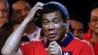 Duterte Akui Nikmati Ciumannya dengan TKW Filipina