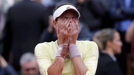 Potret Kekalahan Serena Williams di Tangan Muguruza
