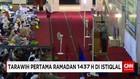 Puluhan Ribu Jemaah Menunaikan Tarawih Perdana di Istiqlal