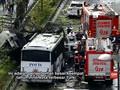 Ledakan Istanbul Sasar Bus Polisi