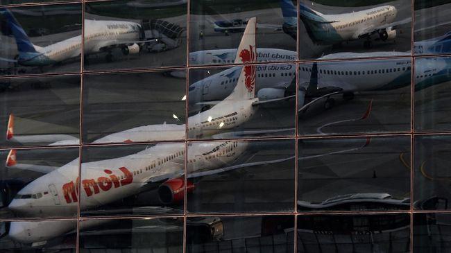 Larangan Terbang Boeing Bikin Pesawat Parkir Lebih Ramai