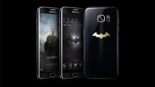 Galaxy S7 Edge Versi Batman Dibanderol Rp15 Juta