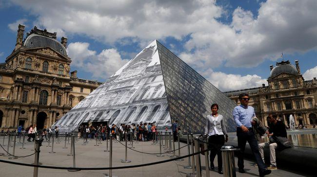 Museum Louvre Buka Area 'Sakral' untuk Diinapi