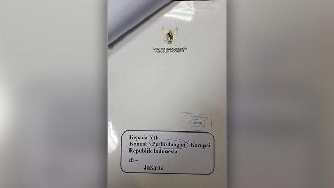 Kemendagri Kirim Surat Permintaan Maaf ke KPK