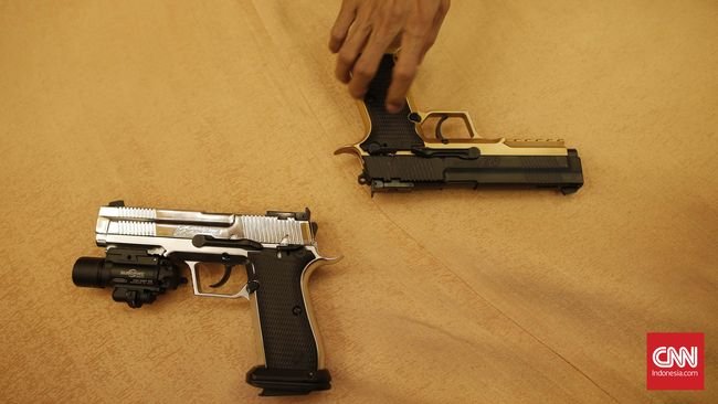 Senjata yang Tertahan di Bandara Dibawa ke BNN Bengkulu