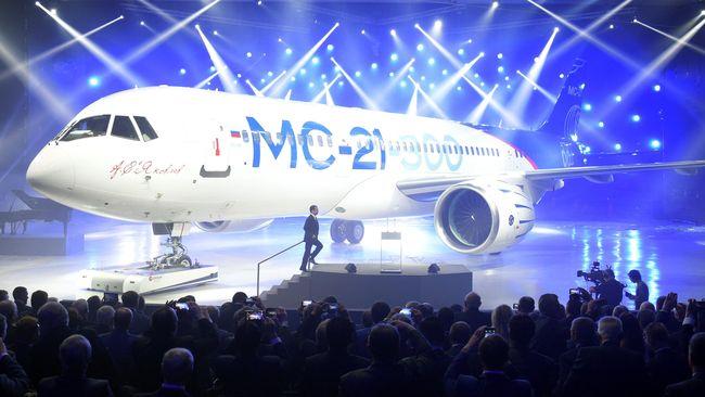 Rusia Luncurkan Pesawat Baru, Saingan Airbus dan Boeing