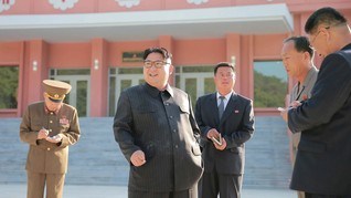 Kim Jong Un Tertangkap Merokok saat Kampanye Larangan Merokok