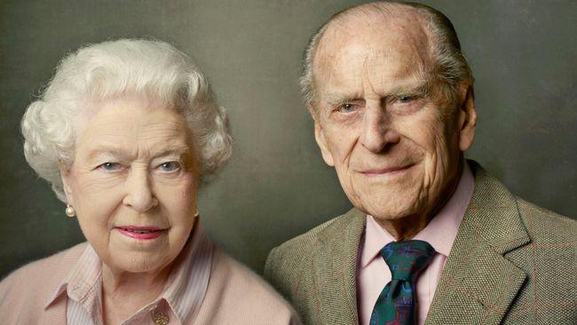 Ratu Elizabeth II Rayakan Ulang Tahun ke-70 Pernikahan