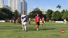 Harapan Keisuke Honda untuk Pesepak Bola Muda Indonesia