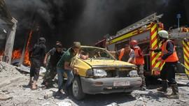 Suriah Bombardir Benteng Pemberontak, 20 Warga Sipil Tewas