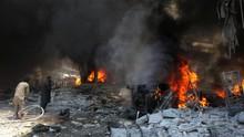 Ledakan Dekat Pasar di Suriah, 15 Orang Tewas