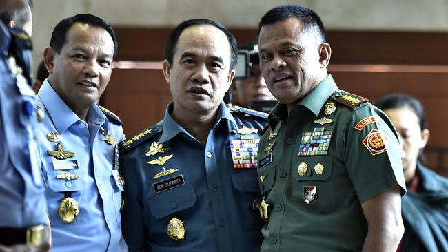 Gatot Ajukan Tiga Nama Calon KSAU ke Jokowi