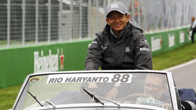 Masa Depan Rio Haryanto di Formula E Masih Samar