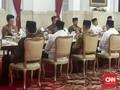 Jokowi Jadi Tuan Rumah Buka Puasa Hari Kesembilan