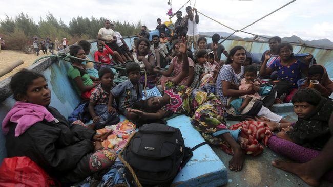 Rakit Imigran Terbalik di Perbatasan AS-Meksiko, Bayi Tewas