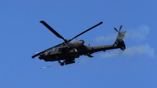 Geng Meksiko Tembak Jatuh Helikopter Polisi, 4 Orang Tewas