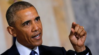 Obama Peringatkan Masa Depan Kelam AS Jika Trump Terpilih