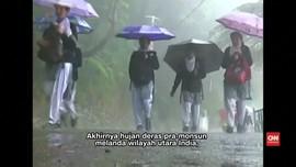 Monsun Tiba, India Berharap Terbebas Dari Kekeringan