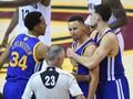 Curry Ejected, Cavaliers Tundukkan Warriors di Gim Enam