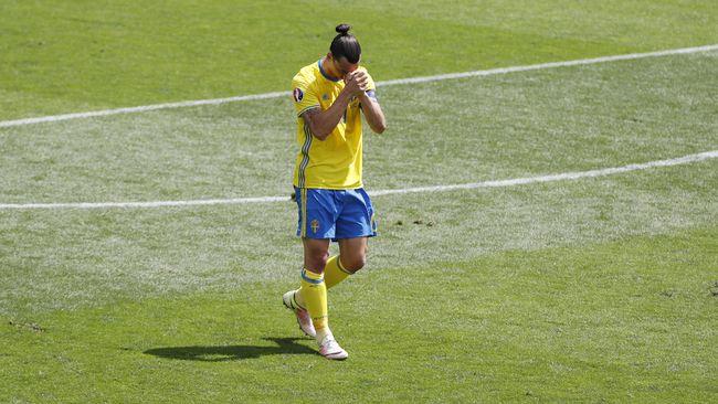 Timnas Swedia Dipastikan Tanpa Ibrahimovic di Piala Dunia