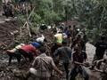 Longsor dan Banjir Jateng Tewaskan 35 Orang, 25 Masih Hilang
