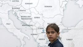 Potret Pengungsi Anak